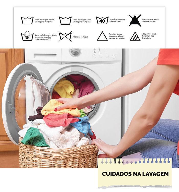 Cuidados ao lavar suas roupas