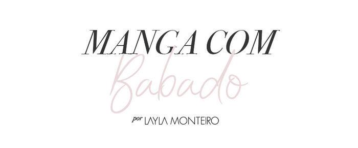 Tendência manga com babado - Por Layla Monteiro