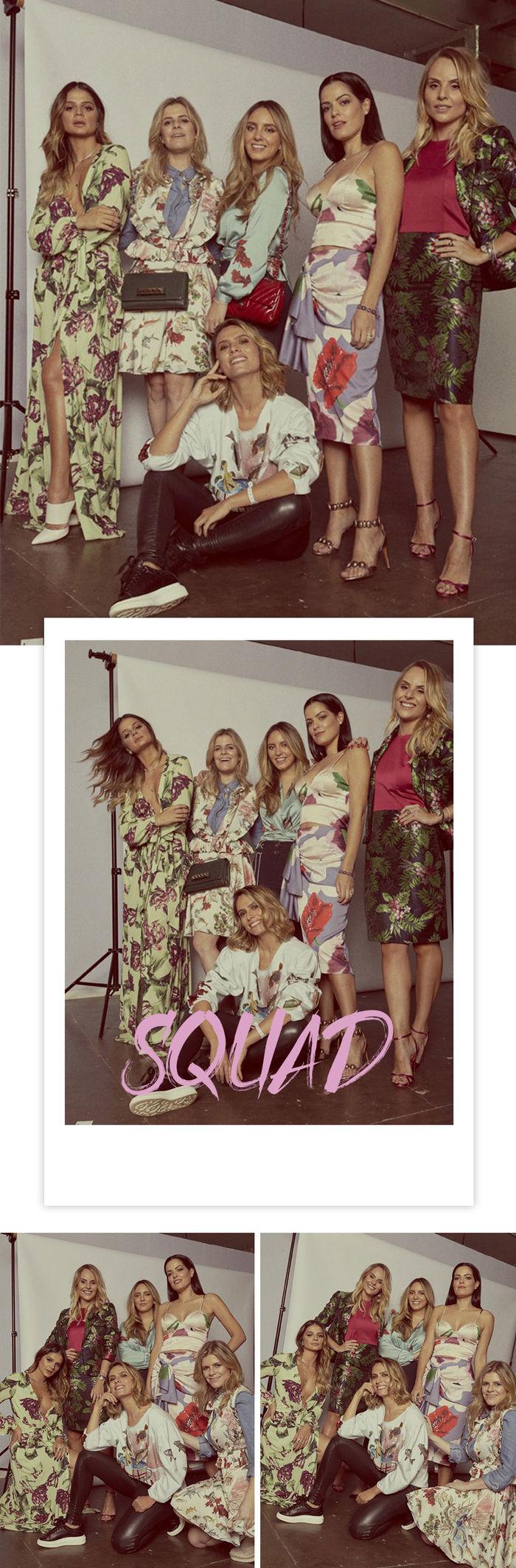 Squad PatBo para Glamour Thássia Naves Patrícia Bonaldi