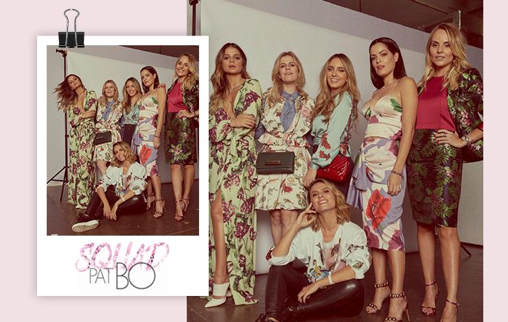 Squad PatBo para a revista Glamour