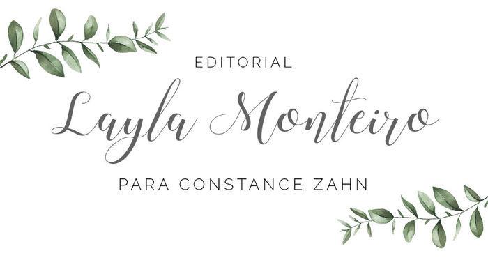 Editorial Layla Monteiro para Constance Zahn