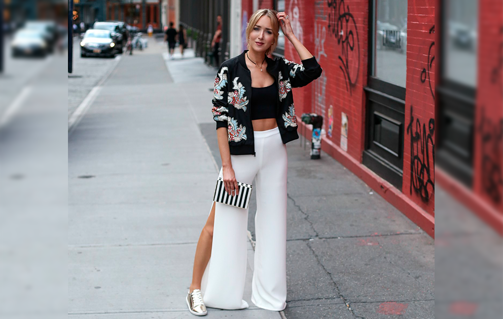 16 ideias para usar calça branca - Por Layla Monteiro