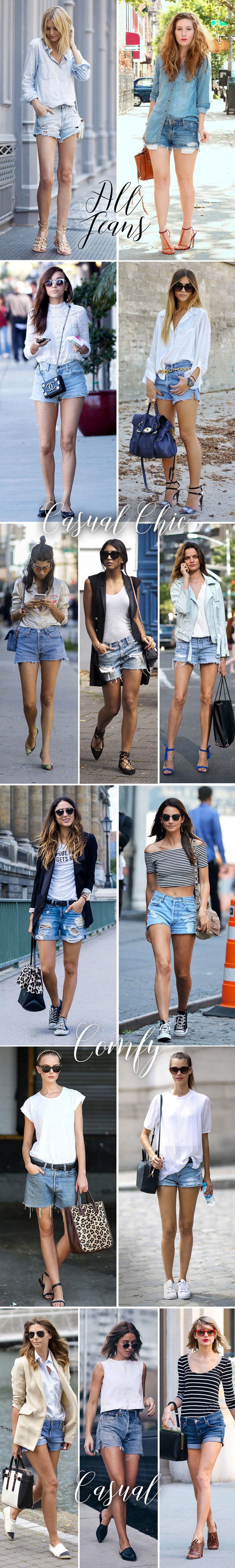 Como usar short jeans - Por Layla Monteiro