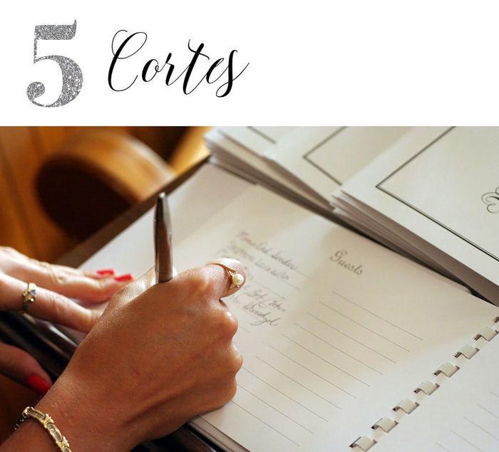 Casamento: Lista de convidados - Cortes