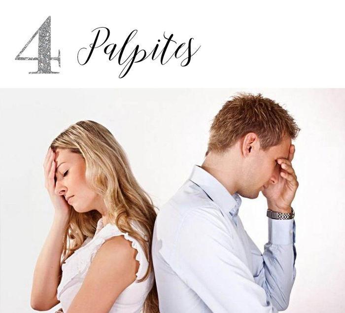Casamento: Lista de convidados - Palpites