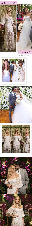 Vestido corset: meu noivado e casamento da Marina Ruy Barbosa