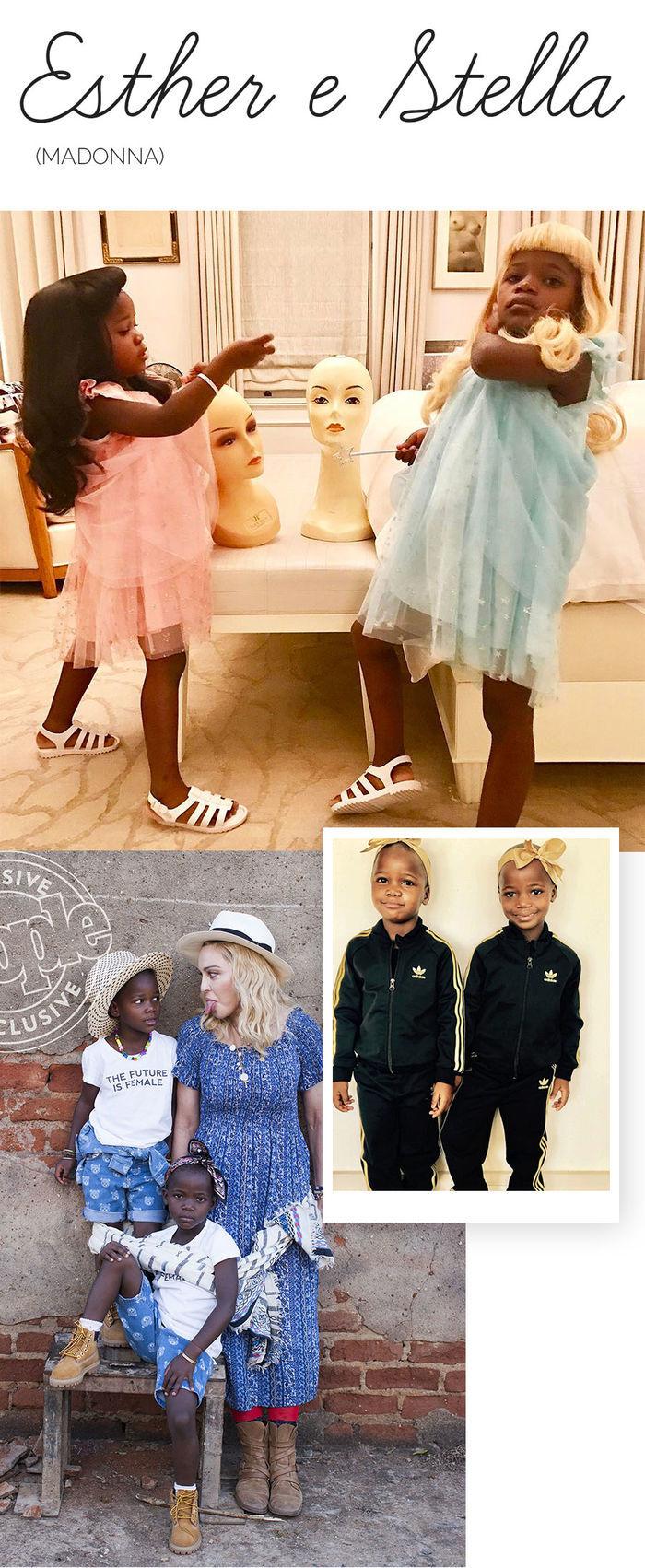 Os filhos mais estilosos das celebs - Esther e Stella - Madonna