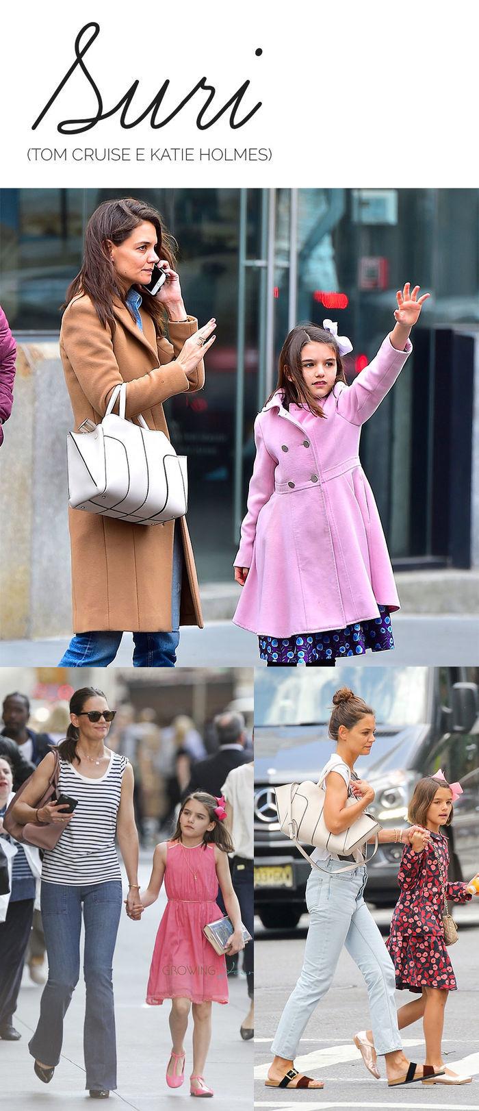 Os filhos mais estilosos das celebs - Suri - Tom Cruise e Katie Holmes