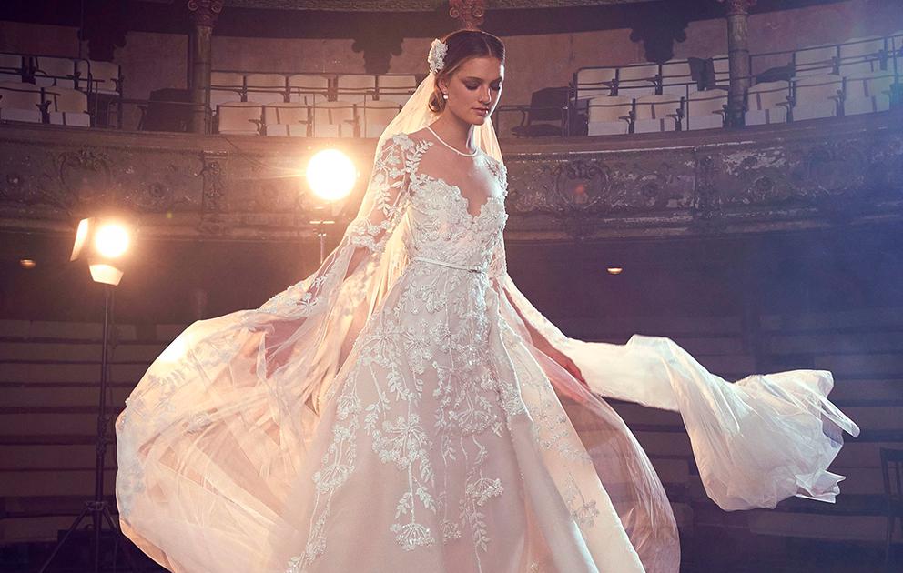 Os melhores vestidos da Bridal Fashion Week Fall 2018