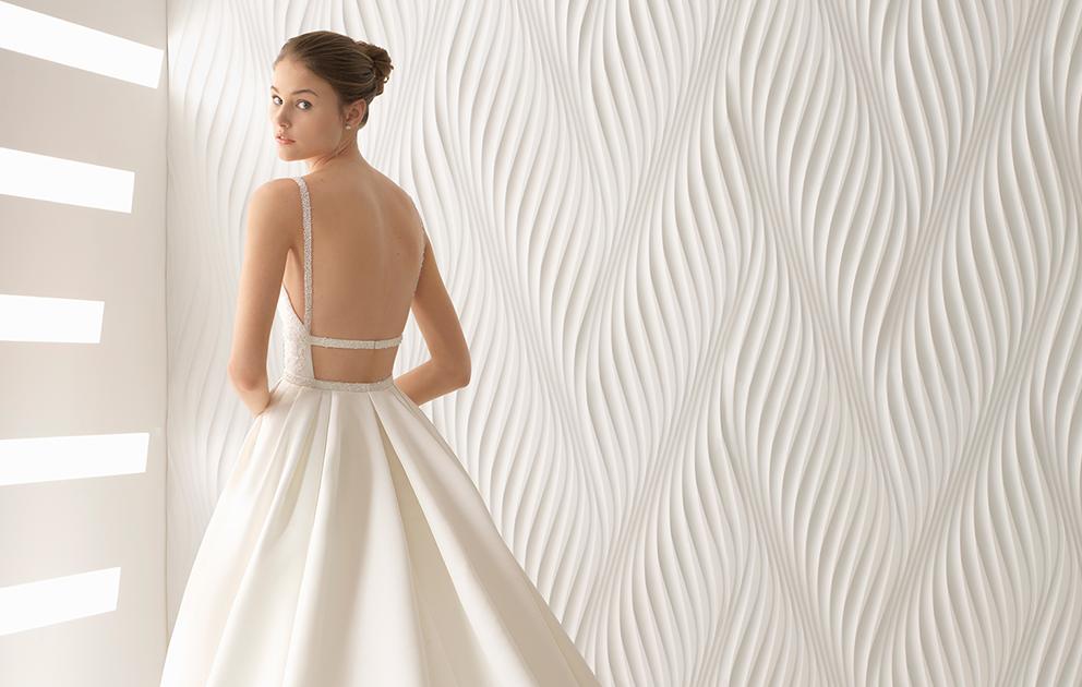 Vestido de noiva: Foco nas Costas
