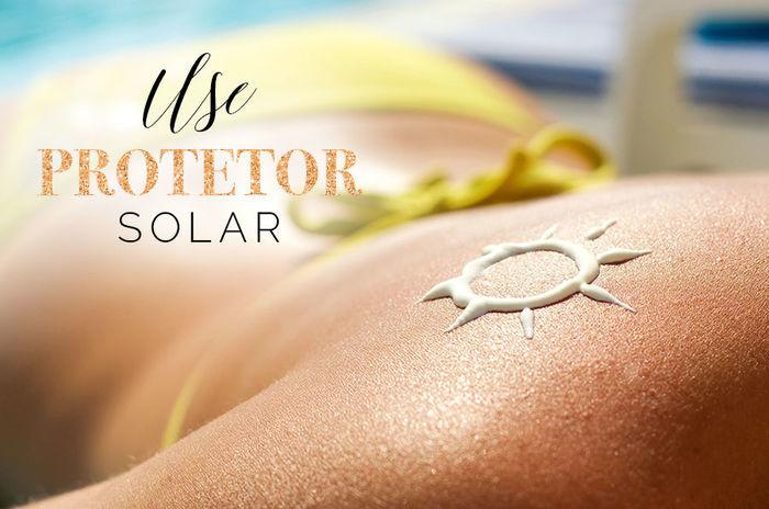 Cuidados com a pele no verão - User protetor solar