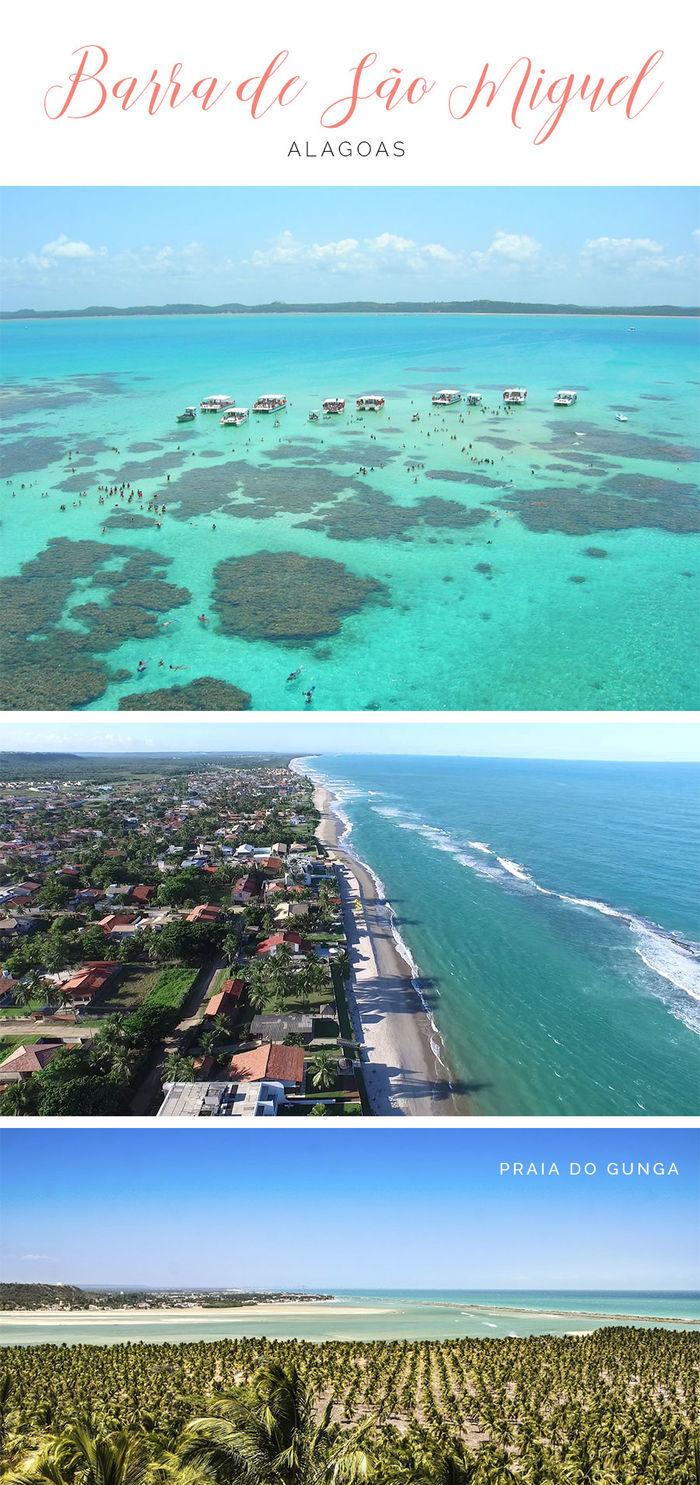Destinos de praia em alta para o verão - Barra de São Miguel - Alagoas