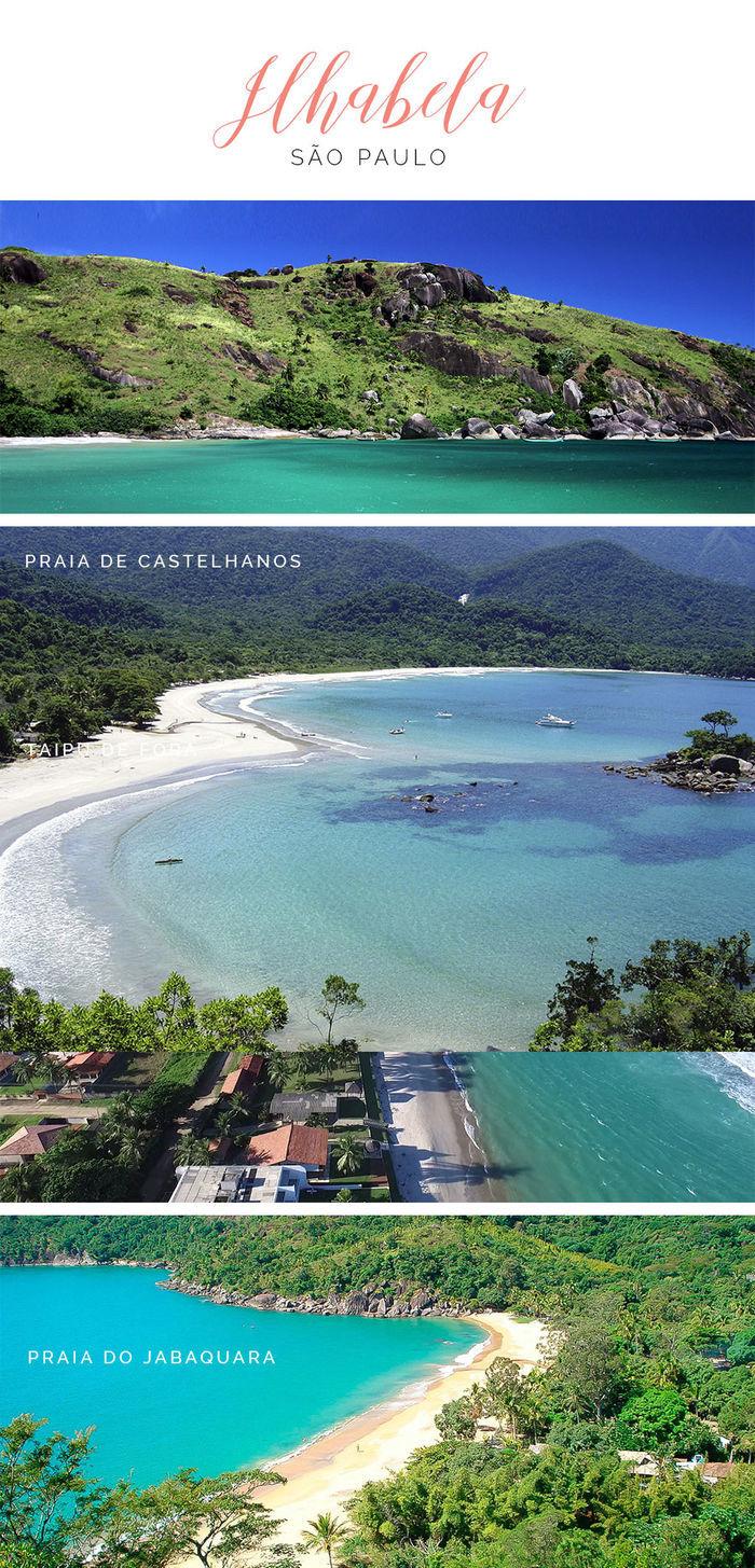 Destinos de praia em alta para o verão - Ilhabela - São Paulo