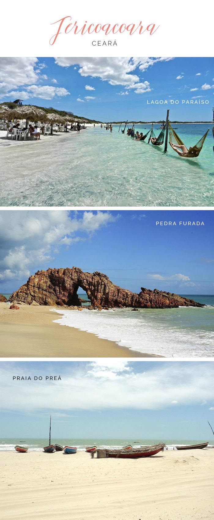 Destinos de praia em alta para o verão - Jericoacoara - Ceará