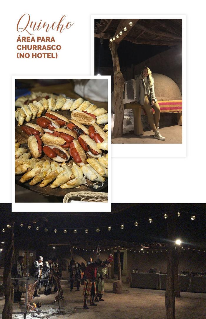 Diário de Bordo: Layla no Atacama - Quincho - Área para churrasco no hotel