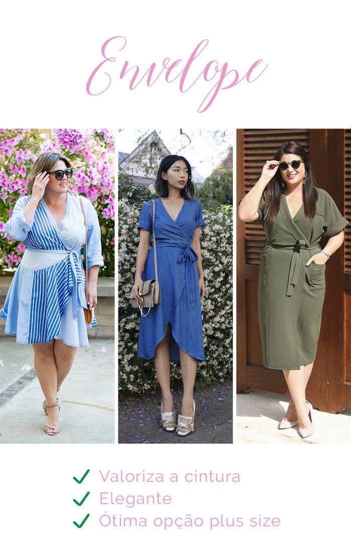 Os vestidos e seus efeitos - Envelope