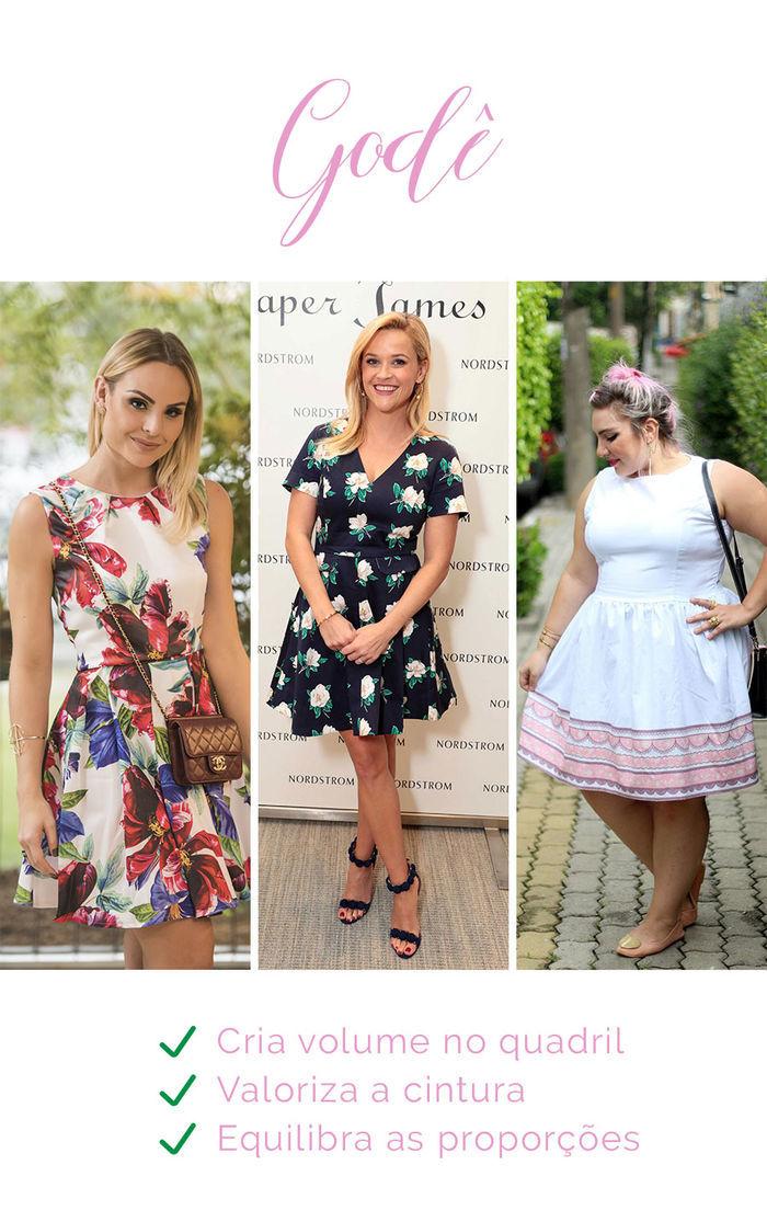 Os vestidos e seus efeitos - Godê