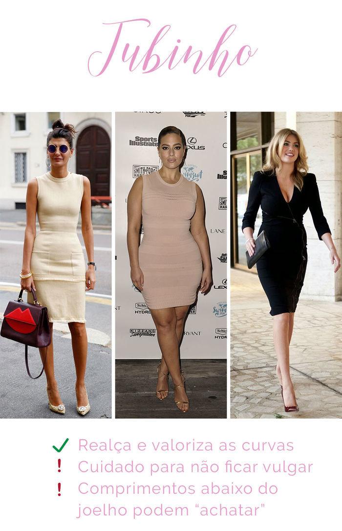Os vestidos e seus efeitos - Tubinho
