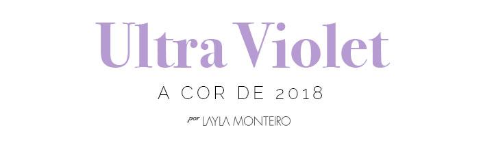 Ultra Violet a cor de 2018