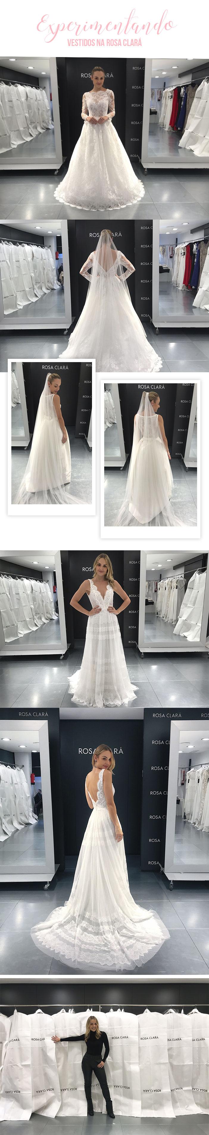 A saga do meu vestido de noiva em Barcelona Rosa Clará