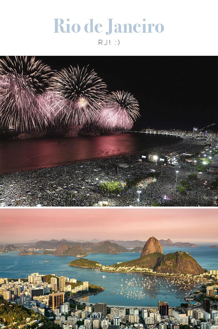 Destinos para Réveillon 2018 - Rio de Janeiro