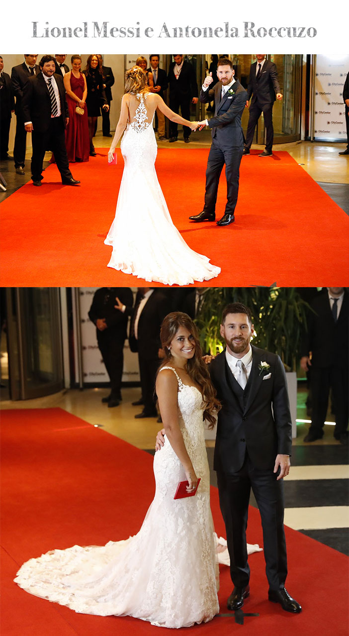 Retrospectiva: Os casamentos de 2017 - Lionel Messi e Antonela Roccuzo