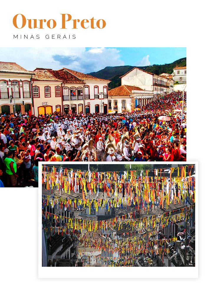 6 destinos para curtir o carnaval em 2018 - Ouro Preto, Minas Gerais