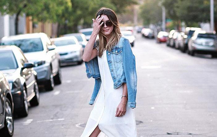 Truque de estilo jaqueta jeans
