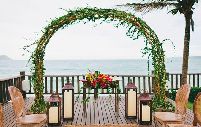 Casamento: Decoração para o altar