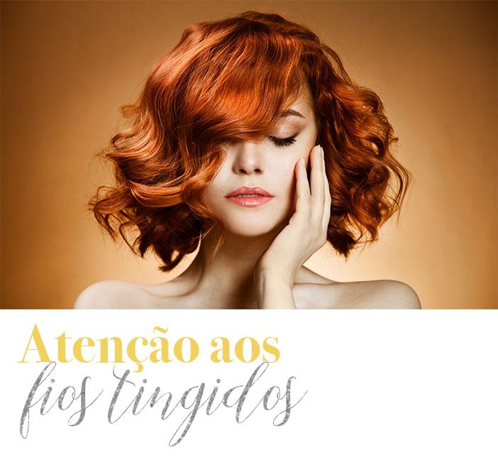Dicas para cuidar do cabelo no verão - Atenção aos fios tingidos