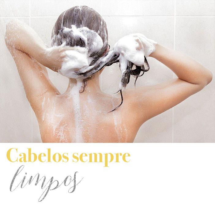 Dicas para cuidar do cabelo no verão - Cabelos sempre limpos