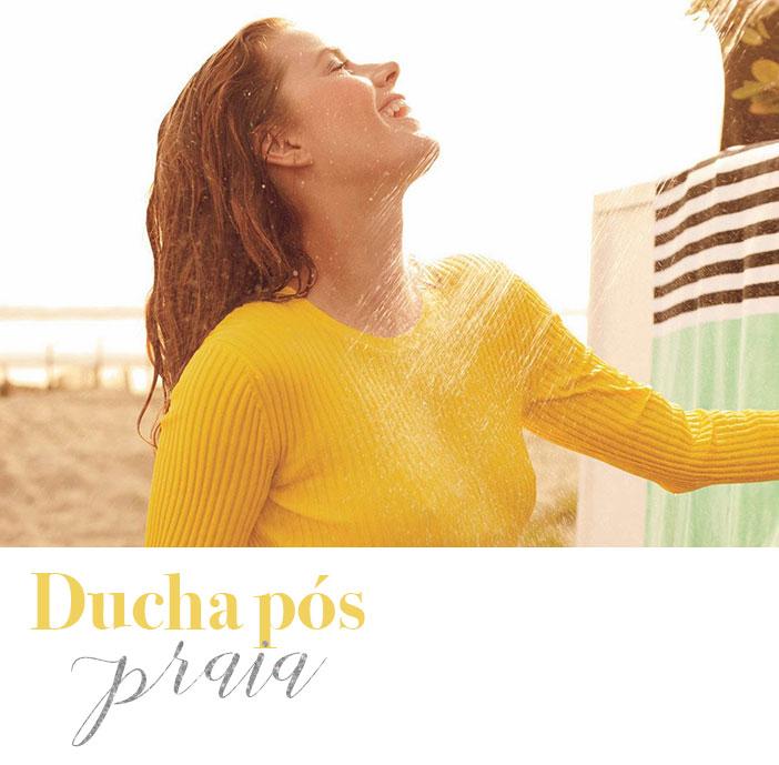Dicas para cuidar do cabelo no verão - Ducha pós praia