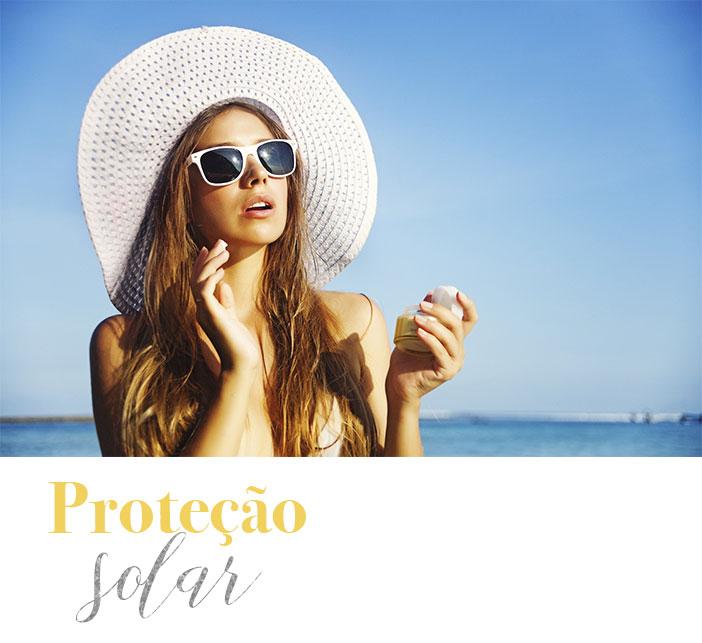 Dicas para cuidar do cabelo no verão - Proteção solar