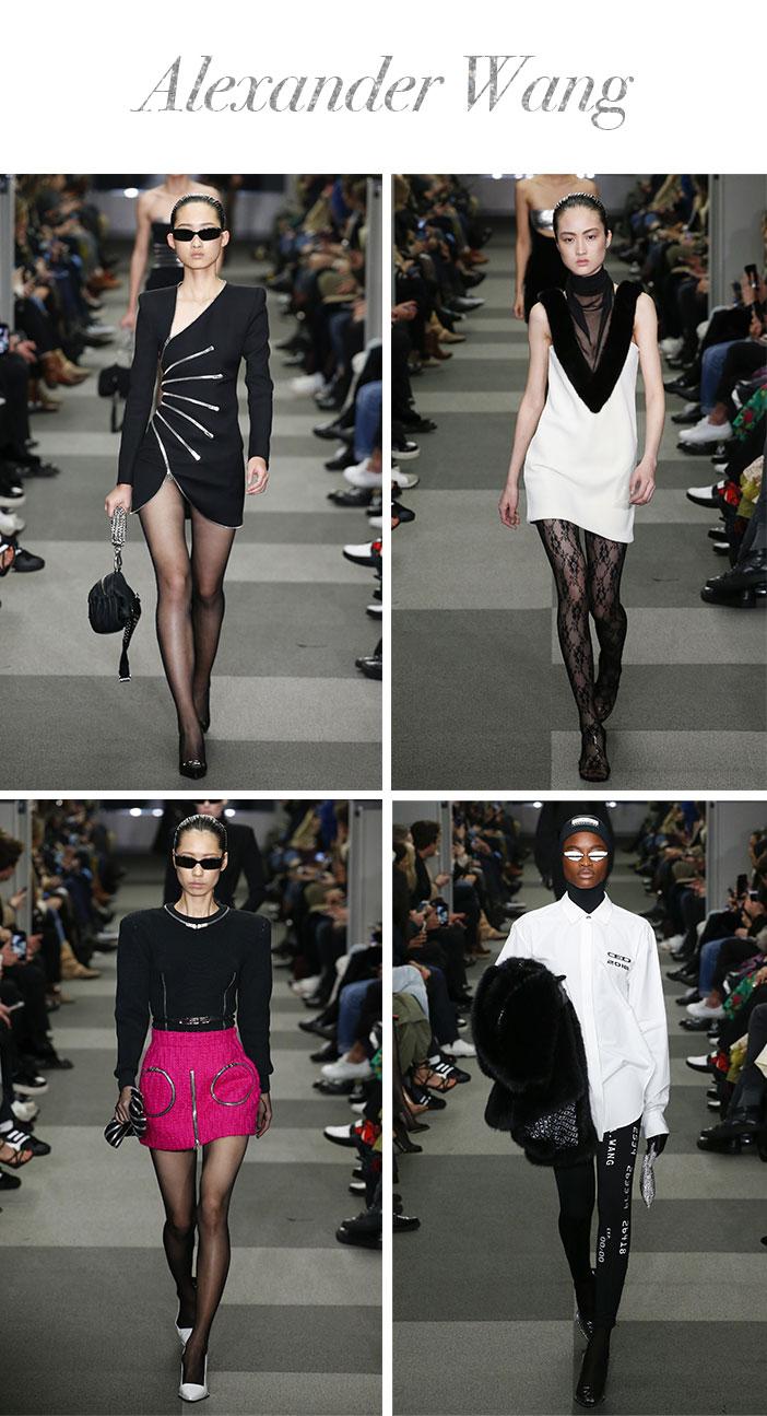 Resumo Semana de Moda de Nova York Inverno 2019 - Alexander Wang
