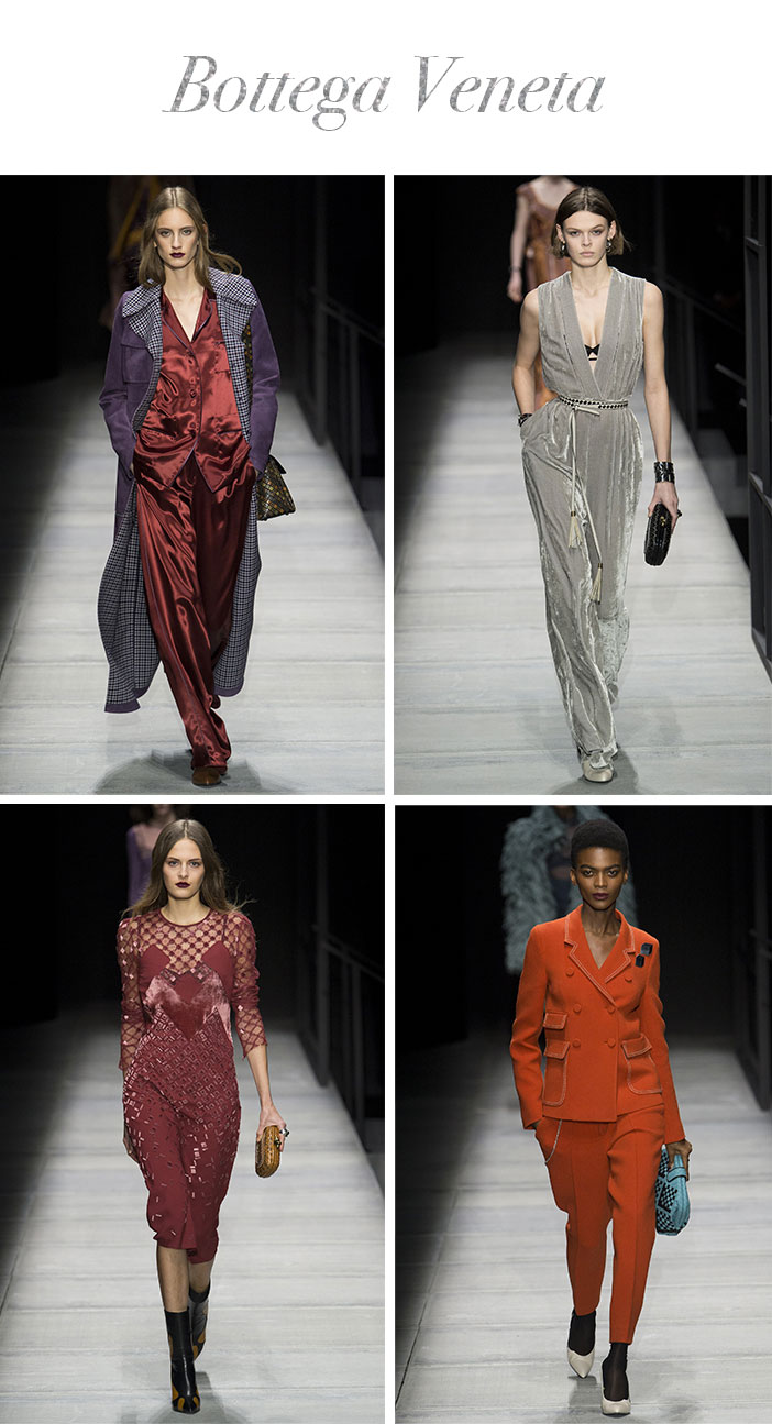 Resumo Semana de Moda de Nova York Inverno 2019 - Bottega Veneta