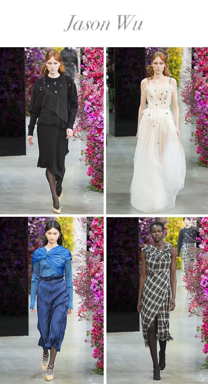 Resumo Semana de Moda de Nova York Inverno 2019 - Jason Wu