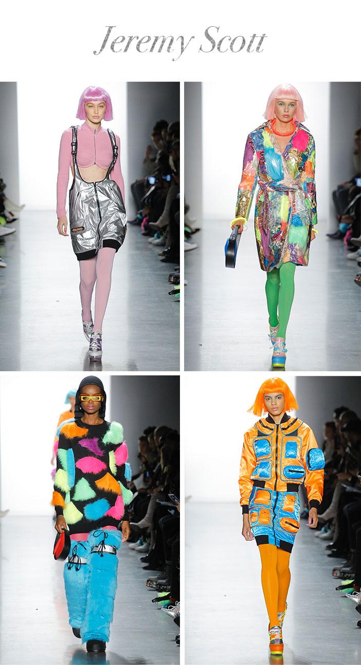 Resumo Semana de Moda de Nova York Inverno 2019 - Jeremy Scott