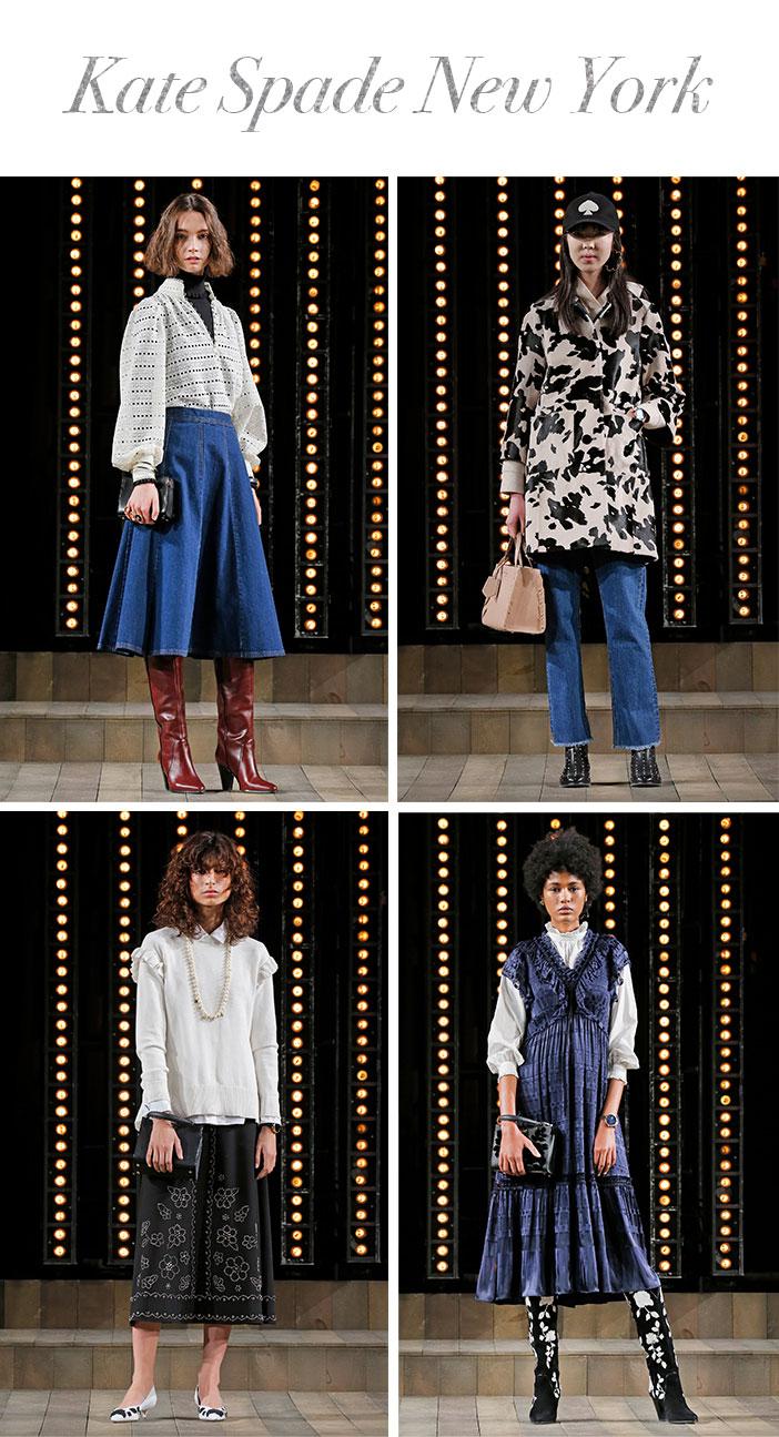 Resumo Semana de Moda de Nova York Inverno 2019 - Kate Spade