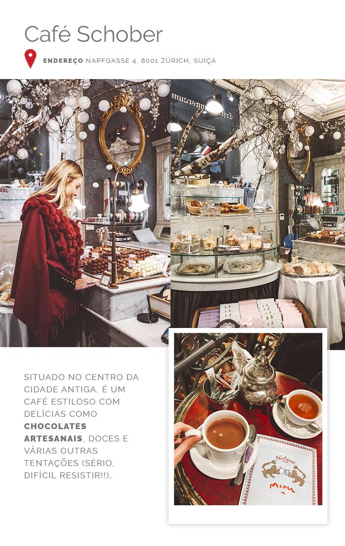 Diário de bordo - Zurique - Café Schober