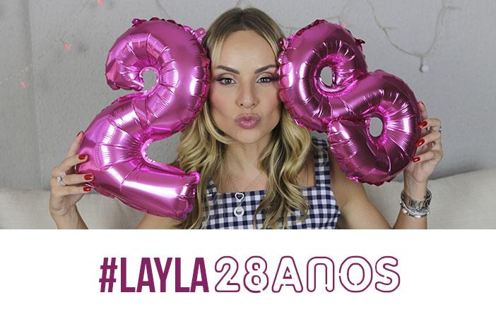 Meu aniversário de 28 anos - Layla Monteiro