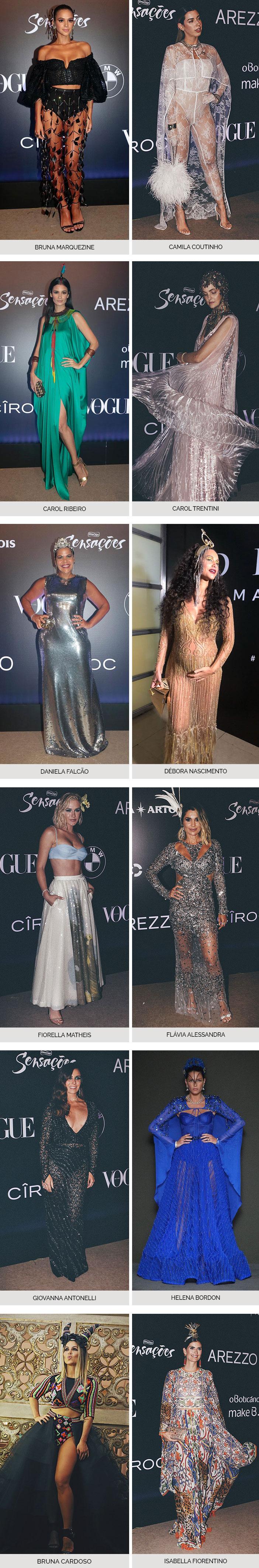 Melhores looks Baile da Vogue 2018