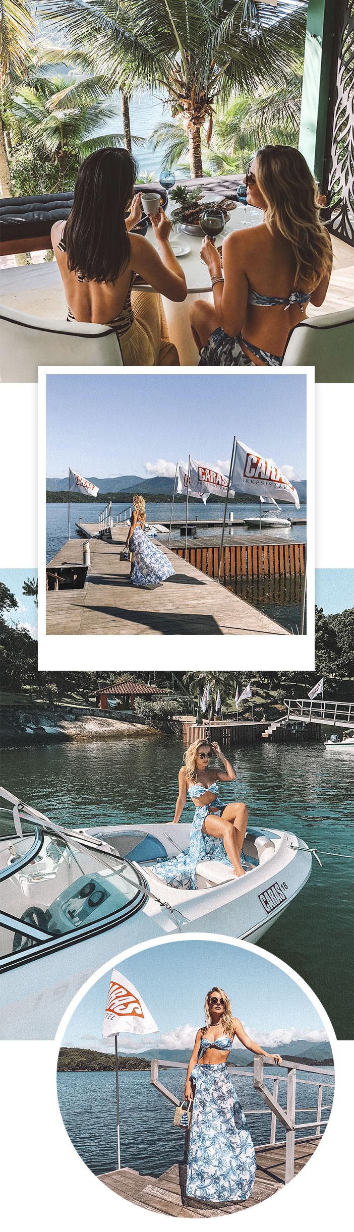 Layla Monteiro na Ilha de Caras