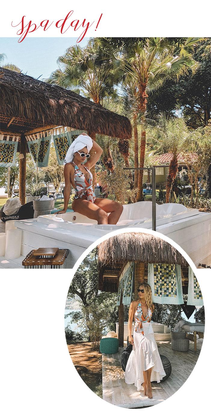 Layla Monteiro na Ilha de Caras - Spa Day