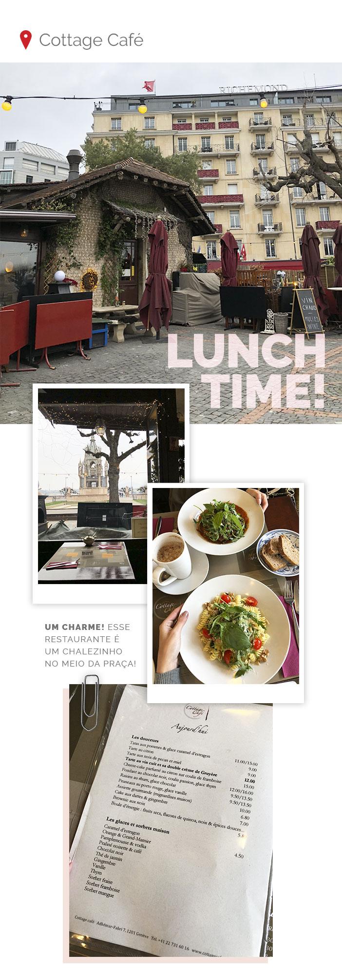 Diário de bordo - Genebra - Cottage Café