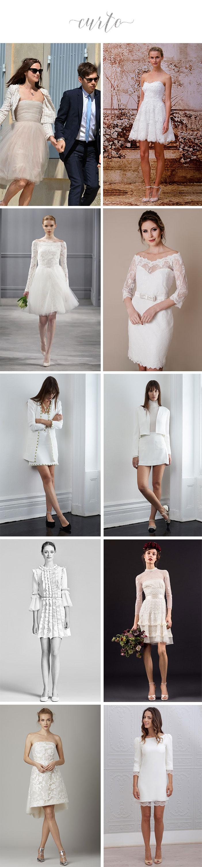 Noivas: O que vestir para o casamento civil? - Curto