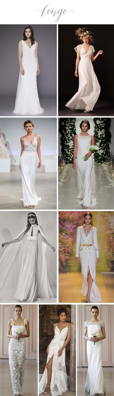 Noivas: O que vestir para o casamento civil? - Longo