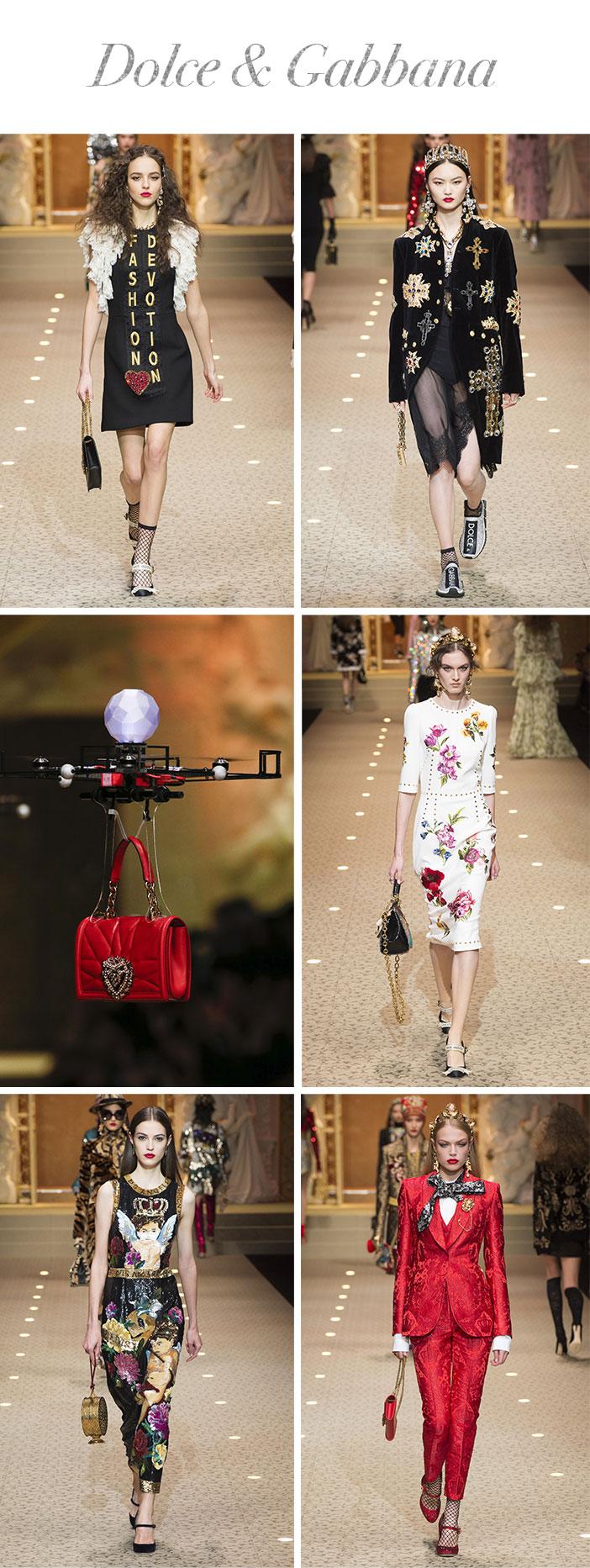 Resumo Milan Fashion Week - Dolce & Gabbana