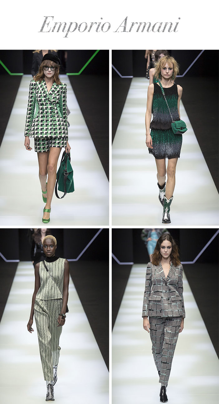 Resumo Milan Fashion Week - Emporio Armani
