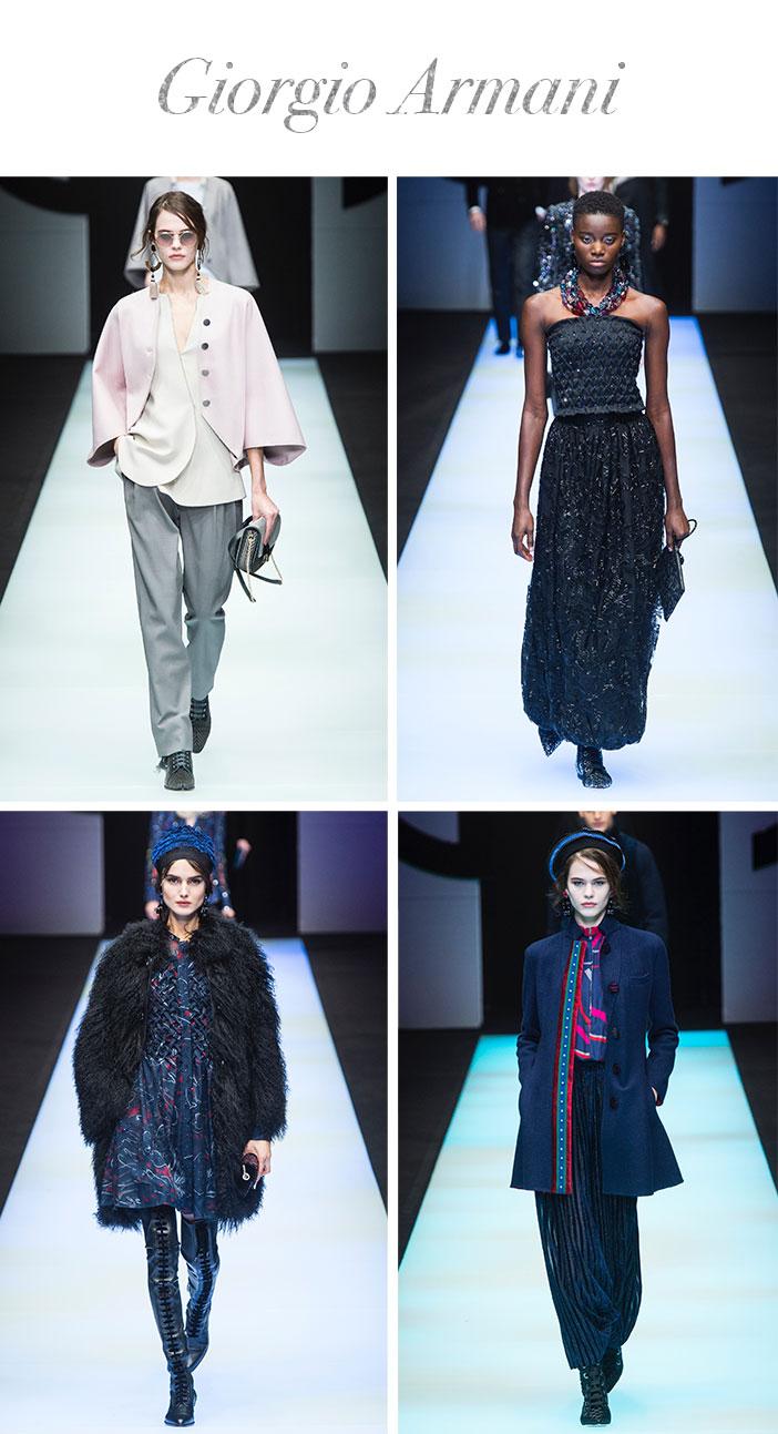 Resumo Milan Fashion Week - Giorgio Armani