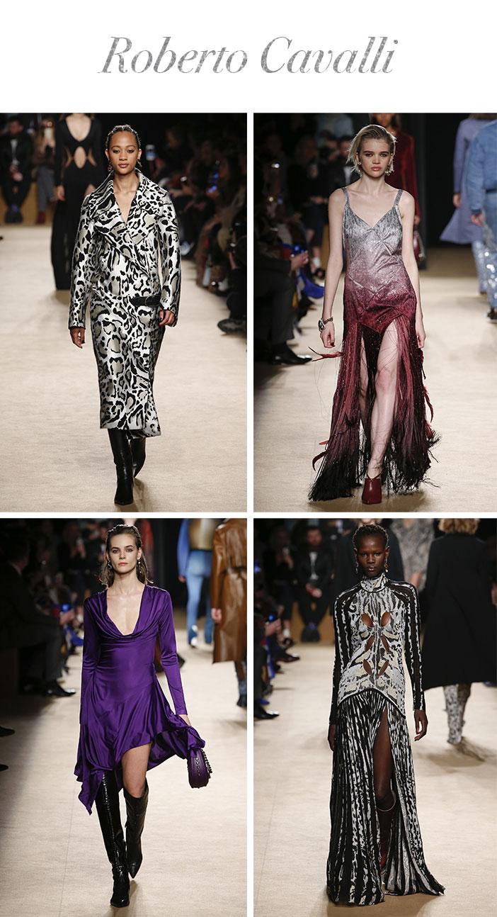 Resumo Milan Fashion Week - Roberto Cavalli